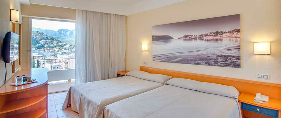 Superior room with sea view Hotel Eden Nord